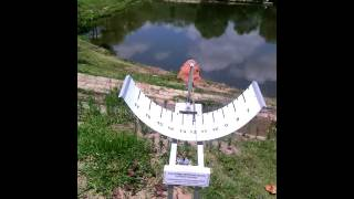 Relógio solar, instalação