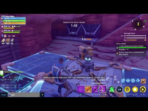 Fortnite Save The World Farming Recources in Canny Valley & Twine Peaks, No Commentary Gameplay