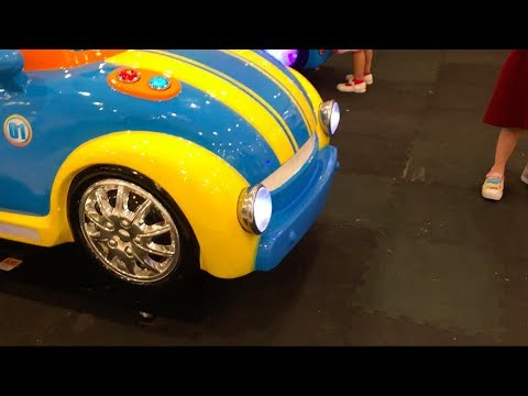 Kiddie Ride Car With Real Hubcaps