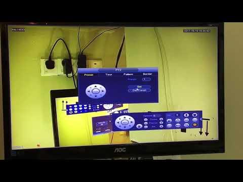 Dahua ptz camera configure preset