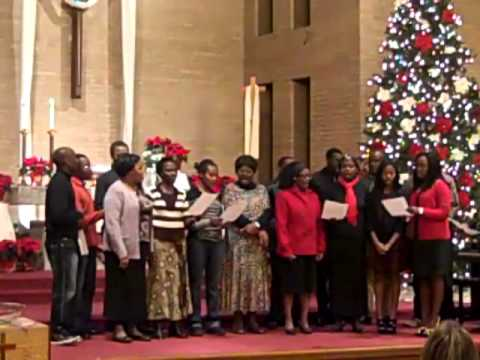 Faith Choir  Joy to the World in Swahili
