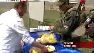Российская военная база в Армении.