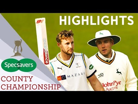 Root Hits Magnificent Century To Save Game | Notts v Yorks | Specsavers County Championship 2019