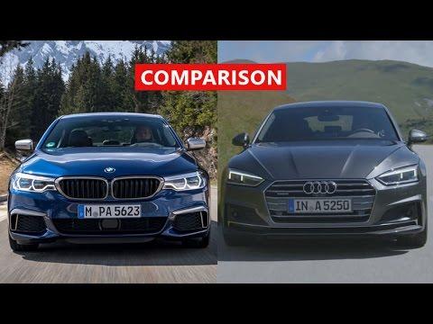 2018 Bmw 5 Series Vs 2017 Audi A5 Sportback Comparison Interior