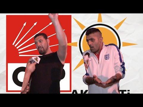 CHP'li ile Ak Partili Gencin Tartışması