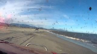 des fous a la plage... corse ballade 4X4 rzr