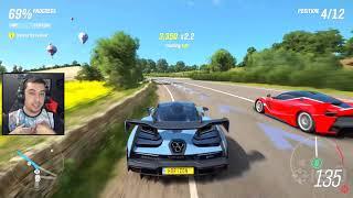 FORZA HORIZON 4 GAMEPLAY 😍 REAGINDO A GAMEPLAY DO FORZA HORIZON 4 - E3 2018