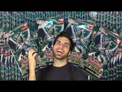 MASSIVE YuGiOh Code of the Duelist 100 Pack Opening Extravaganza! OH BABY!!
