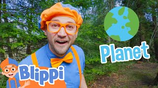 Learning About The Planet With Blippi | Educational Videos For Kids