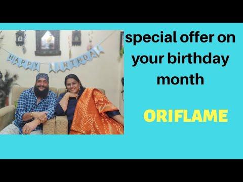 Celebrate your  Birthday with Oriflame| Oriflame India||Ketki bhatti||saksham