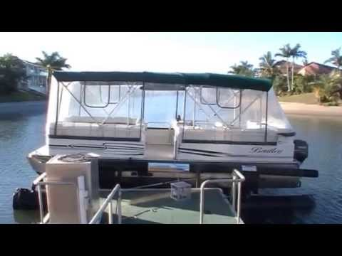Bentley 240 cruise pontoon boat for sale action boating for Pontoon boat without motor for sale