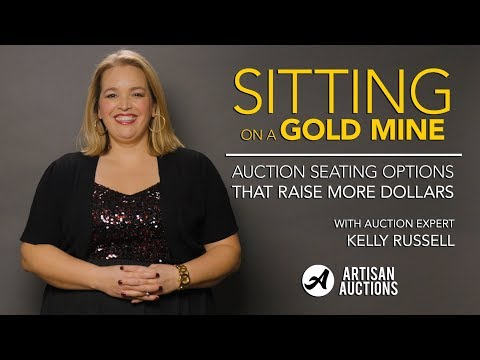 Auction Seating Options That Raise More Money | Artisan Auctions with Kelly Russell