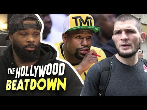 Tyron Woodley Says Khabib vs. Floyd Mayweather Is Very Likely To Happen | The Hollywood Beatdown