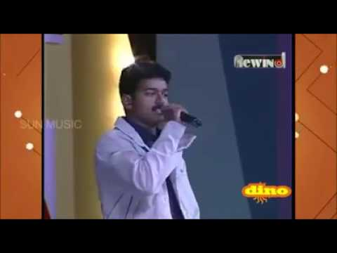 "ILAYATHALAPATHY SINGING ""HEY PAAPA NEE KONJAM NILLU SONG "" IN FUNCTION #REWIND"