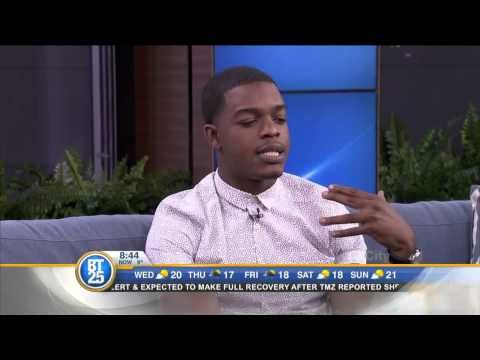 Actor Stephan James discusses his latest film Selma