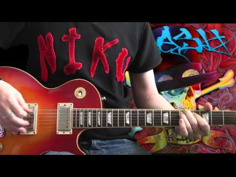 Slash feat M. Shadows - Nothing To Say (full guitar cover)
