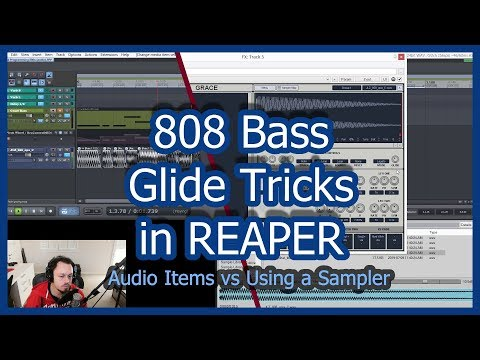 808 Bass Glide Tricks For Free in REAPER