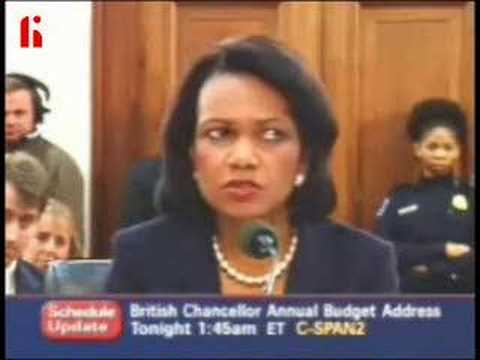 Condoleezza Rice Avoiding The Truth thumbnail