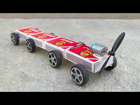 How To Make A luxury Matchbox Electric Toy Diy
