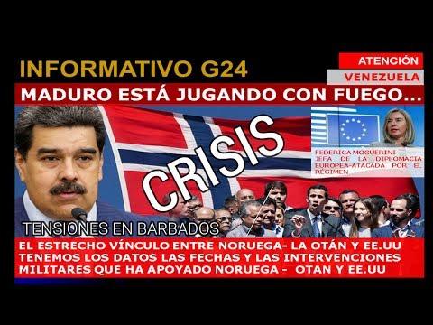 ATENCIÓN VENEZUELA #MADURO JUEGA CON FUEGO/ NORUEGA LA MEJOR ALIADA DE LA OTAN POR QUÉ?