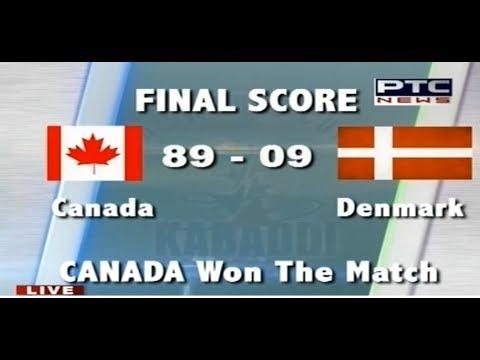 Canada Vs Denmark Men S Day 2 Pearls 4th World Cup Kabaddi Punjab 2017