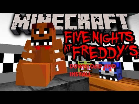 How to Download Minecraft and Install Five Night at Freddy's MAP!!!