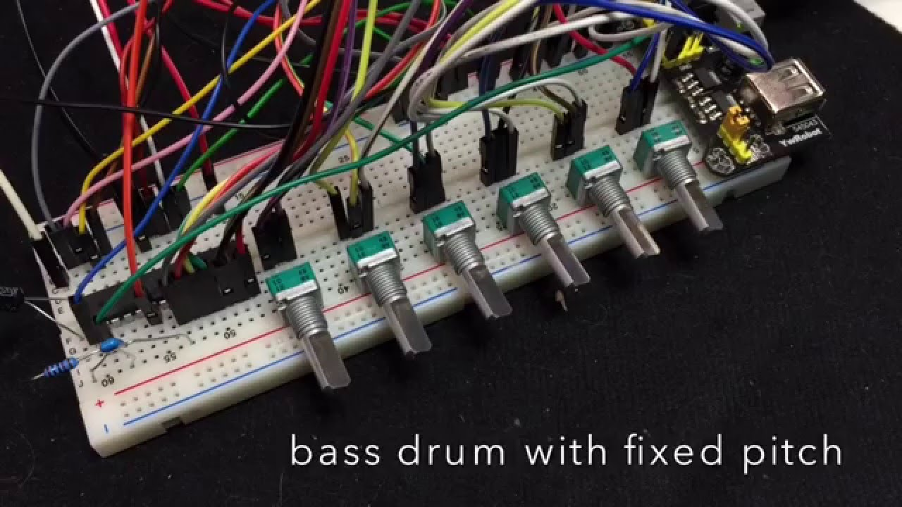 The Dsp D8 Drum Synthesizer Chip Youtube Learn To Build Atari Punk Console Electronic Circuits