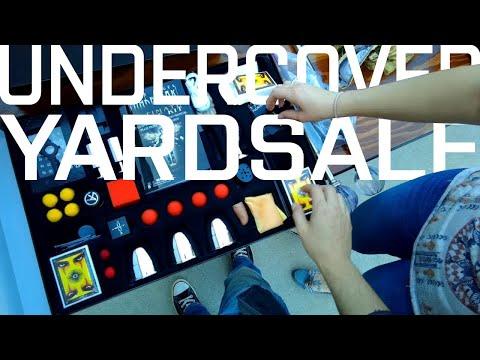 Undercover Yard Sale 5-19-2018 Impulse Buys