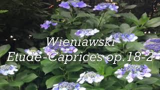 Wieniawski Etude-Carices op.18-2