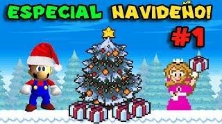 ¡Hack Navideño de Mario 64! - Jugando Peach's Christmas Invitation con Pepe el Mago