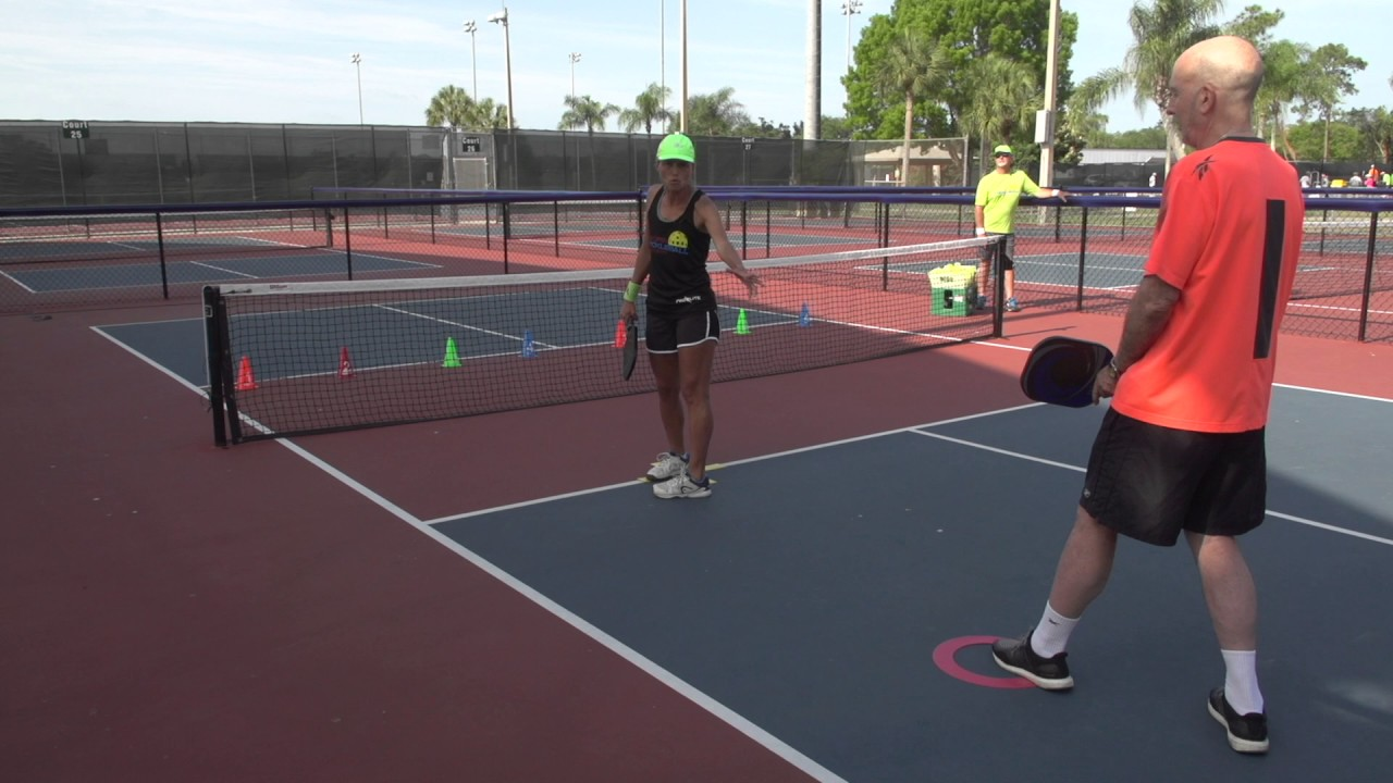 Pickleball Tutor Tips: How to Improve Your Dink Shot with a Ball Machine
