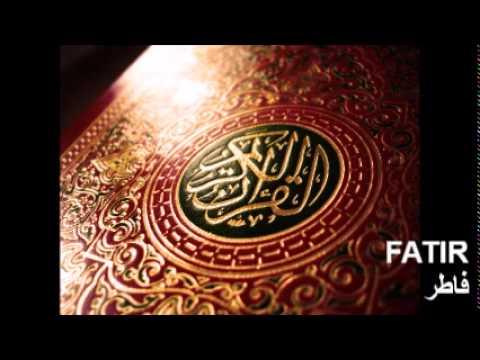 Surat Fatir (The Originator - La Créateur - فاطر) / Abdelbasset Abdessamad