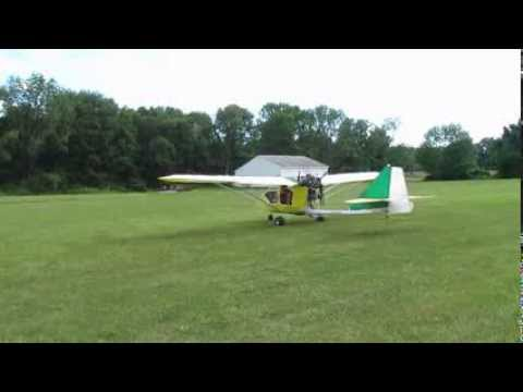 First flight and landing of CGS Hawk Arrow N443EP