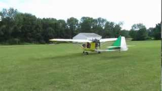 First flight and landing of CGS Hawk Arrow N443EP