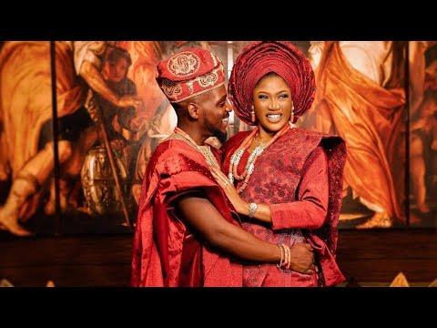 ADESUA ETOMI, BANKY W, TIMI DAKOLO, SOPHIE ALAKIJA, MC LIVELY AT TOBI BAKRE & ANU'S WEDDING