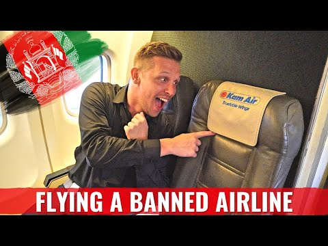 DANGEROUS ADVENTURE! AFGHANISTAN's BANNED KAM AIR ATR42 to KABUL
