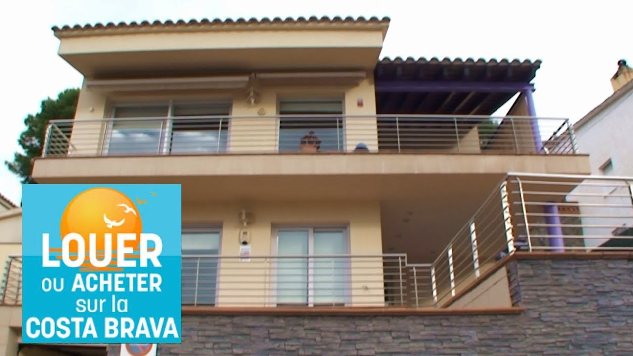 Vente Villa Rosas Costa Brava Espagne 600m De La Plage Youtube