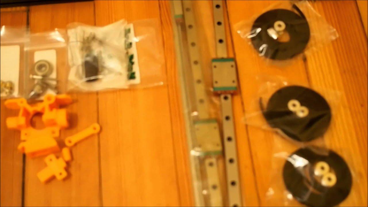Mini Kossel 3D Printer Build - 1 - Parts List and Tools