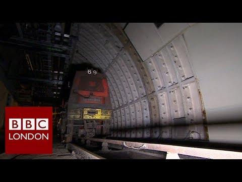 London's underground mail train - BBC London News