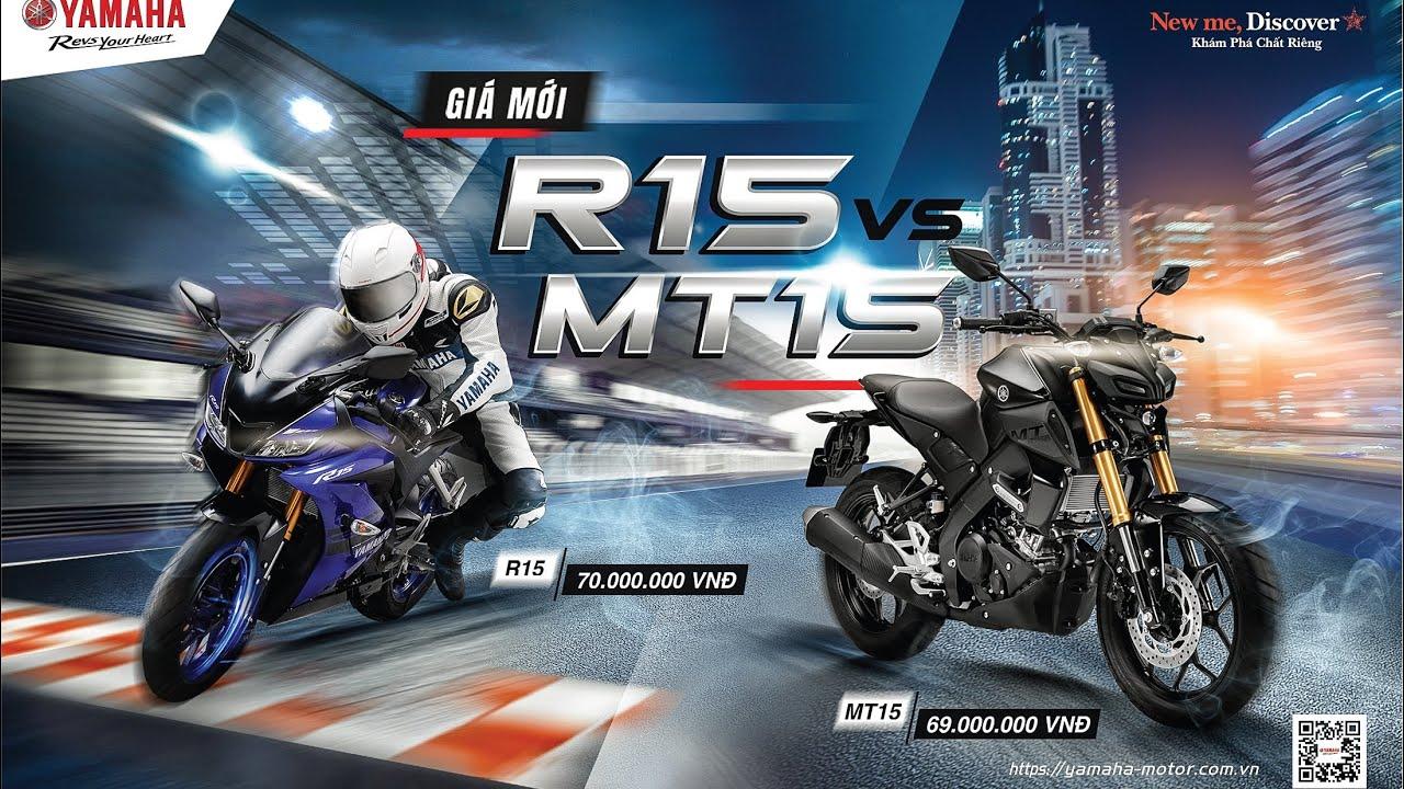 Yamaha R15 V3 2020 chính hãng còn 70 triệu - Giá xe R15 và MT15 tại Yamaha Town Sài Gòn