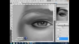 How to Draw a Realistic Eye in Phototoshop