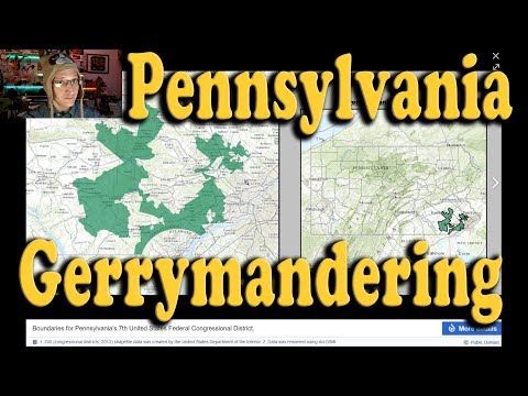 PA found Gerrymandered, Supreme Court Orders Districts Redrawn