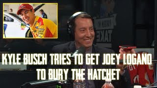 Gambar cover NASCAR Champion Kyle Busch Calls Joey Logano So That Big Cat Can Bury The Hatchet