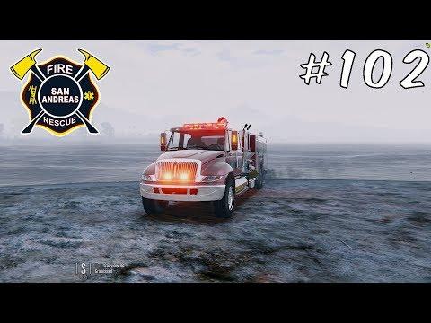 GTA V FiveM   Fire/EMS   Ladder Driver  MidwestRP #102 - PakVim net