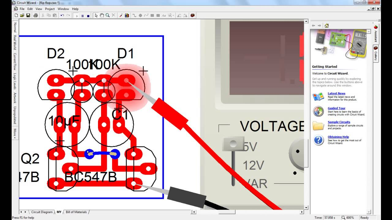 Circuit Wizard Pcb Layout Everything About Wiring Diagram Download Full Version Free Isnan Nabawi Flip Flop And Youtube Rh Com 3d Etching Standard Edition