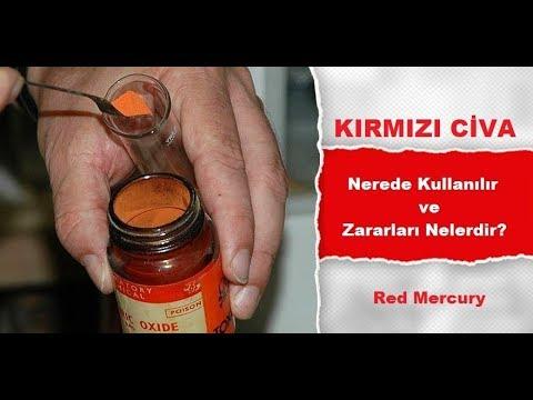 Kırmızı Civa Nerede Kullanılır Ve Zararları Nelerdir #Nerede #5N1K Red Mercury