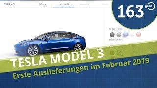 Tesla Model 3 im Februar in Deutschland - Warum ich mein Model 3 trotzdem abbestellt habe !