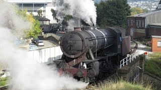 WD Austerity 90711 at Keighley and Worth Valley Railway Autumn Gala 2015