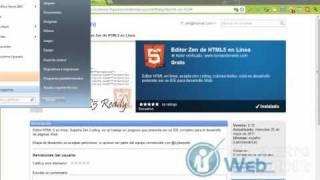 Programa HTML 5 como todo un maestro Zen - tutorial HTML5 001