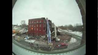 Hotel Quinte, Time Lapsed, Demolition